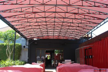 Automatic Canopy 02, Projects, Automatic Gate Bali